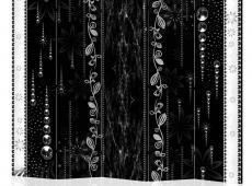 Paraván - Black Elegance II [Room Dividers]